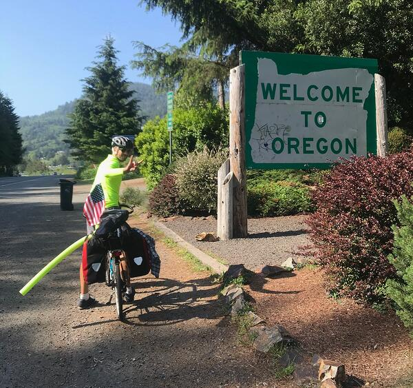 Oregon State Line