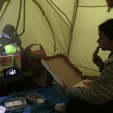 Tent Movie Night
